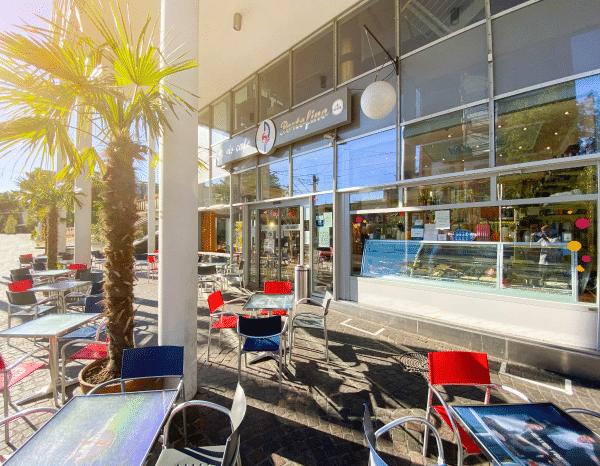 Eiscafé Außen